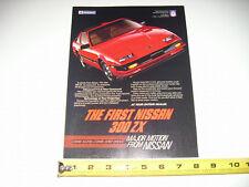 1984 Nissan 300Zx Original Ad