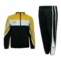Nike Boys Tracksuit Full Zip Football Track Pants Top Black White 461842 703