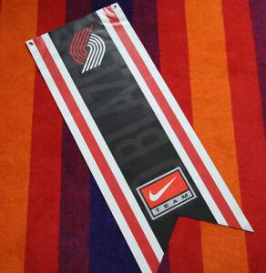 Vintage Nike Team Basketball Portland Trail Blazers Vinyl Promo Hanging Banner
