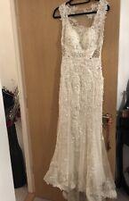 Ivory Lace Wedding Dress Size 10