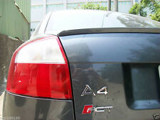 Audi A4 B6 2001-2005 SALOON BOOT LIP SPOILER UK SELLER