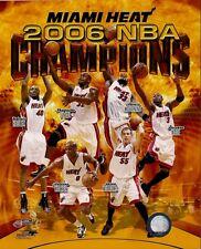 """Set of 2 2006 Miami Heat Licensed 8"""" x 10"""" Photos - Ready to Frame!"""