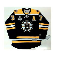 PATRICE BERGERON BOSTON BRUINS 2011 STANLEY CUP JERSEY