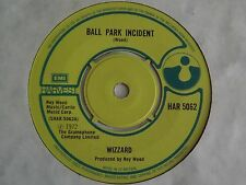 """Wizzard~Ball Park Incident/The Carlsberg Special. Roy Wood [7""""@45] 1972"""