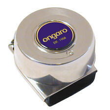 "Ongaro Standard 3"" inch Round Mini Compact Single Marine Boat Horn 12V 3A 105dB"