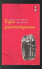 Panfleto Libros Del Pueblo Num 8 1968 ICP Tipos Puertorriquenos Puerto Rico