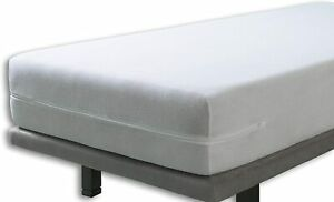 Double Size Mattress Cover Soft Terry Towelling Mattress Protector Zip Up Topper