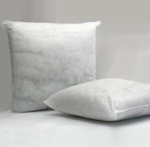 Pack of 10 100% Virgin Cushion Filler/ Inner in sizes from 30cm-90cm