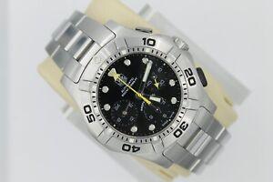 Tag Heuer BLACK Aquagraph Watch Mens CN211A.BA0353 AUTOMATIC Calibre 60 Silver