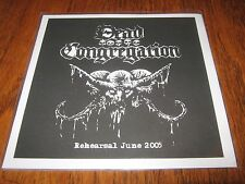 "DEAD CONGREGATION ""Rehearsal June 2005"" 7"" incantation teitanblood"