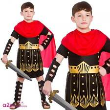Roman Commander Gladiator Centurion Kids Boys Historical Fancy Dress Costume 5 - 7 Years Eb-4085