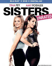 Sisters (Blu-ray/DVD, 2016, 2-Disc Set, Includes Digital Copy) NEW & SEALED