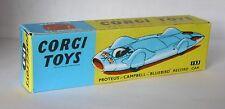 Repro Box Corgi Nr.153 Proteus Campbell Bluebird Record Car