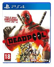 Deadpool [PlayStation 4 PS4, Region Free, Action Video Game] NEW