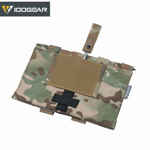 IDOGEAR Airsoft First Aid Kit Pouch Medical Organizer MOLLE Medical Pouch 9022B