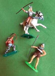 Timpo Toys 2 Wikinger, 1 x Elastolin