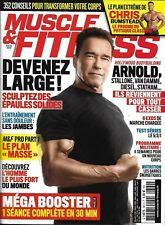 MUSCLE&FITNESS n°364 mars 2018  Schwarzenegger/ Les hommes forts des blockbuster