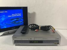 Sony SLV-D100 DVD VCR Combo Player Hi-Fi Stereo VHS Recorder  Remote Tested