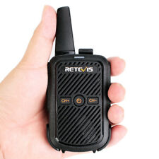 Retevis RT15 Funkgeräte Walkie Talkie VOX TOT UHF 16CH Type-C Monitoring
