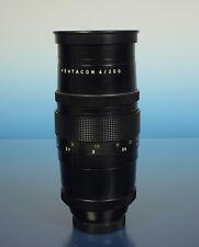 PENTACON 4/200mm lens Objektiv objectif für Exakta - (41632)