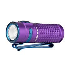 Olight S1R II Baton Purple 1000 Lumen Rechargeable LED flashlight w/ Battery