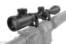 3-9X40 E SCOPE SIGHT RED GREEN AIRSOFT ASG HUNTING WITH 20 mm MOUNT