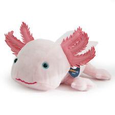 Stofftier rosa Axolotl, Molch, Lurch, Echse, Plüschtier (L. ca. 32cm)