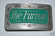 "Vintage John Deere ""The Furrow"" A Journal for the American Farmer Belt Buckle"