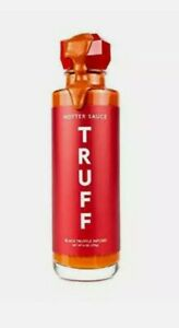 TRUFF Hotter Gourmet Hot Sauce Red Chili Peppers with More Heat 6 oz. EX 6/10/22