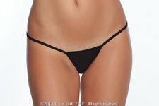 3 EXTRA LARGE LADIES WOMENS G STRING BLACK SEXY