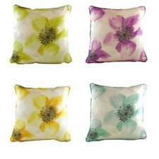 Linen Blend Square Modern Decorative Cushions