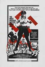 ILSA, SHE WOLF OF THE SS Movie POSTER 27x40 B Dyanne Thorne Gregory Knoph Tony