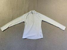 Saucony Primo ladies long sleeve 1/4 zip running top | white | medium | new