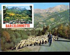 BARCELONNETTE (04) BERGER & MOUTONS en TRANSHUMANCE en 1989
