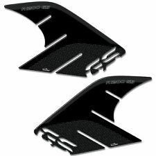 ADESIVI 3D PROTEZIONI LATERALI COMPATIBILI CON BMW R 1200 GS 2013-2016 NERO