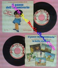 LP 45 7'' MARIA TERESA CLAUDIO CORO I SANREMINI Ilpaese incontrario no cd mc*dvd
