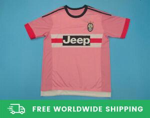 Juventus 2015-2016 Away Rose Short-S Jersey Maglia Shirt Pogba Dybala Size S-XXL