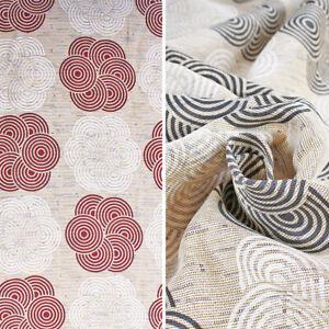 Cloth Furniture Granfoulard Bedspread Sofa Pattern Circles 2 Squares 260x270cm