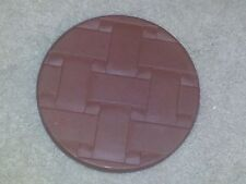 """20% PRICE REDUCTION Longaberger Button Brick 6""""Rd,New""""Made in Roseville, Ohio"""""""