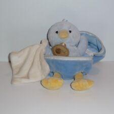 Doudou Poussin Babynat Baby Nat' - Bleu
