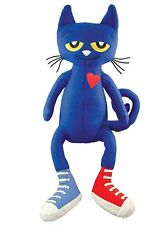 Blue Pete the Cat Plush Doll Figure Soft Toy 14 inch Gift Ship From USA