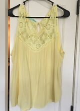 Maurices yellow tank - XL as is