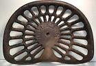 Antique Deering Cast Iron Farm Tractor Seat Implement