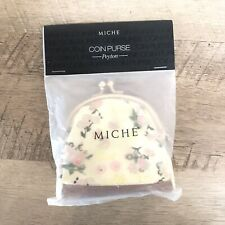 Miche Peyton Coin Purse #9163 Sweet Pink Floral Design