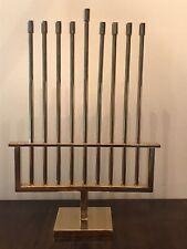 Hanukkah Menorah Isreali Artist N Basson Signed & Numbered