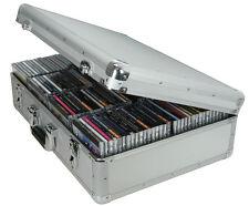 Citronic 127.066 Aluminium CD Flight-Case, Peut En contenir 120 Boîtiers-bijoux