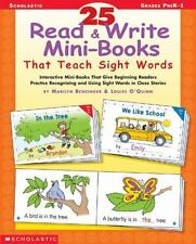 25 Read & Write Mini-Books That Teach Sight Words: Interactive Mini-Books That G