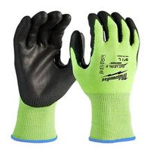 Milwaukee 48-73-8922 High Visibility Polyurethane Dipped Cut Level 2 Gloves LRG