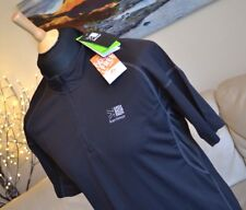 KARRIMOOR NEW Black TOP DRX Trek Running Half Zip T-Shirt Mens Sz. Medium - BNWT