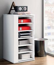 Zapatero armario auxiliar color blanco brillo interior giratorio para almacenaje